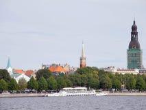 Alte Mitte von Riga Stockbild