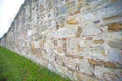 Alte, mittelalterliche Abteiwand Lizenzfreie Stockfotografie