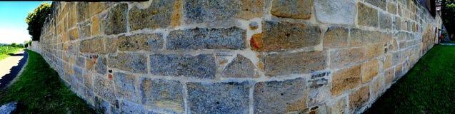 Alte, mittelalterliche Abteiwand Lizenzfreies Stockbild
