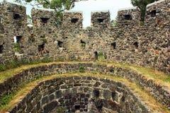 Alte mittelalterliche byzantinische Festung Gonio Aphsaros nahe Batumi, Geor Stockbild