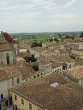 Alte mittelalterliche Gebäude Saint Emilions, Frankreich Lizenzfreie Stockfotografie