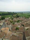 Alte mittelalterliche Gebäude Saint Emilions, Frankreich Lizenzfreies Stockbild