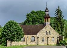 Alte mittelalterliche Kirche Stockfoto