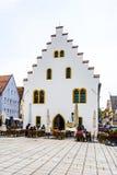 Alte mittelalterliche Stadt von Schongau Stockbilder