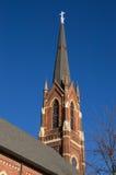 Alte Mittelwesten-Kirche Lizenzfreies Stockfoto