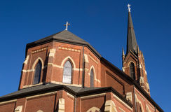 Alte Mittelwesten-Kirche Lizenzfreie Stockfotografie