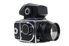 Alte mittlere Formatkamera Lizenzfreie Stockfotografie