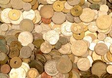 Alte Münzen Stockbild