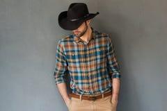 Alte mode del cowboy Fotografia Stock