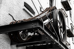 Alte Modemechaniker, Antwerpen, Belgien Lizenzfreies Stockbild