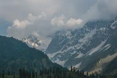 Alte montagne Immagini Stock