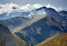 Alte montagne Immagine Stock Libera da Diritti