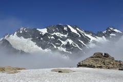 Alte montagne in alpi del sud, NZ Fotografia Stock Libera da Diritti