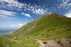 Alte montagne - alto Tatra, Slovacchia Immagini Stock Libere da Diritti