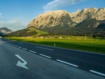 Alte montagne Austria Fotografia Stock