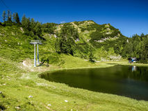 Alte montagne Austria Immagine Stock