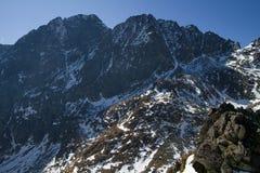 Alte montagne in autunno, Slovacchia di Tatra Immagine Stock