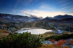 Alte montagne in Bulgaria Fotografia Stock