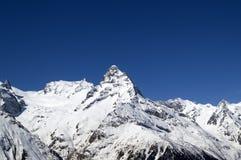 Alte montagne. Caucaso Immagine Stock Libera da Diritti