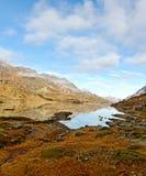 Alte montagne delle alpi. Fotografia Stock Libera da Diritti
