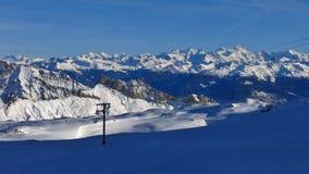 Alte montagne delle alpi svizzere Fotografie Stock