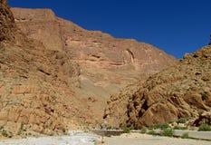 Alte montagne di atlante, Marocco Fotografie Stock