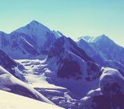 Alte montagne di Caucaso Immagini Stock Libere da Diritti
