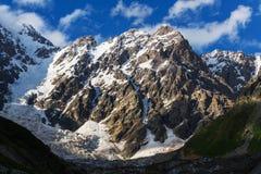 Alte montagne di Caucaso Fotografia Stock Libera da Diritti