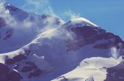 Alte montagne di Caucaso Fotografie Stock