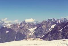Alte montagne di Caucaso Immagine Stock Libera da Diritti