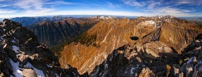 Alte montagne di Tatra Fotografie Stock Libere da Diritti