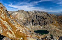 Alte montagne di Tatra Fotografie Stock
