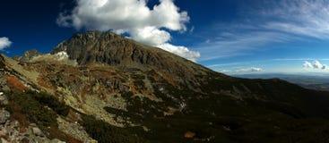 Alte montagne di Tatra slovacche Immagine Stock