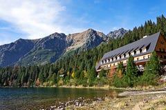 Alte montagne di Tatra in Slovacchia fotografia stock libera da diritti