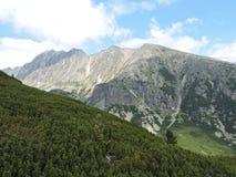 Alte montagne di Tatra, Slovacchia Fotografia Stock
