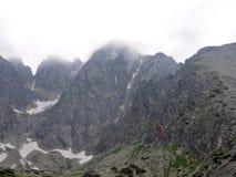 Alte montagne di Tatra, Slovacchia Fotografie Stock
