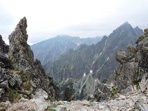 Alte montagne di Tatra, Slovacchia Fotografie Stock Libere da Diritti