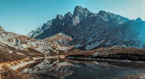 Alte montagne di Tatra in Slovacchia Fotografia Stock