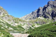 Alte montagne di Tatra, Slovacchia, Europa Fotografia Stock