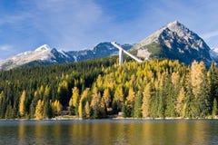 Alte montagne di Tatras Fotografie Stock Libere da Diritti