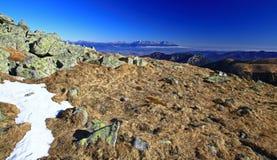 Alte montagne di Tatras Immagine Stock Libera da Diritti