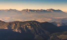 Alte montagne di tatras Immagini Stock Libere da Diritti