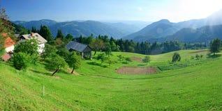 Alte montagne di Tatras in Slovacchia Fotografie Stock
