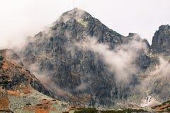 Alte montagne di tatras, Slovacchia Fotografie Stock