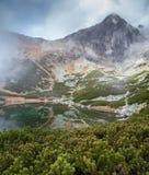 Alte montagne di tatras, Slovacchia Immagini Stock Libere da Diritti