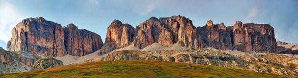 Montagne delle dolomia Fotografie Stock Libere da Diritti