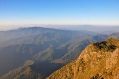 Valle Chiang Mai Tailandia della montagna Fotografie Stock