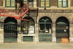 Alte Montreal-Gebäude Lizenzfreies Stockbild