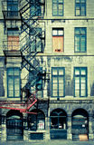 Alte Montreal-Gebäude Lizenzfreie Stockfotografie