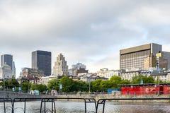 Alte Montreal-Szene lizenzfreie stockbilder